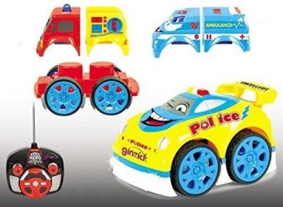 Ginzick Super Fun Control Assembly Fireambulancepolice Car