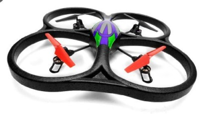 WLtoys Wlv262 Cyclone Ufo 4 Channel 6 Axis Gyro Quadcopter 2.4Ghz