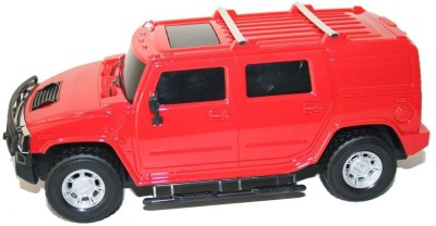 Littlegrin Hummer Remote Control Model Car Scale 1:16 with Charger Kit Gift Toy for Kids(Red)