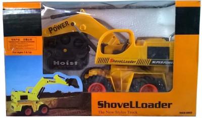 Adiestore Wire Remote Control Jcb Construction Shovel Loader Excavator Truck Toy
