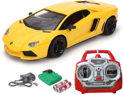 Flipzon Lamborghini Rc Rechargeable Toy 1:18 (Yellow)