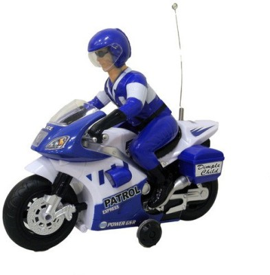 CP Bigbasket Radio Control Police Motorcycle with Lights And Sound