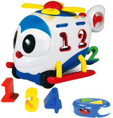 The Learning Journey Remote Control Shape Sorter - Chopper The Number Copter