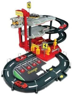 Bburago Ferrari Race & Play Parking Garagemu
