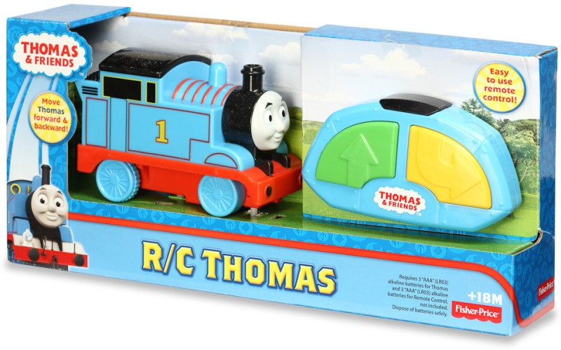 Fisher-Price Thomas & Friends TrackMaster R/C Thomas(Blue, Grey)