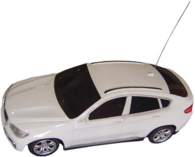 Brunte 1:18 White City Remote Car With Rechargeable Battery