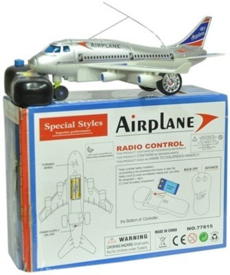 New Pinch Remote Aeroplane 2 Channel Radio Control (Running, Not Flying, Battery Included)