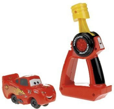 Fisher-Price Geotrax Cars Lightning Mcqueen Turbo Rc