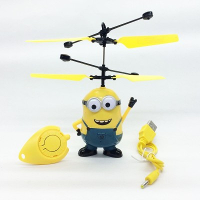 ShopX Minion Helicopter With Infrared Sensor