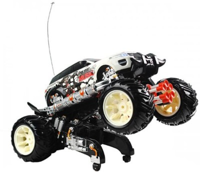 Basetronix 6 Bullet Dancing Car With Rocket Launcher Toy