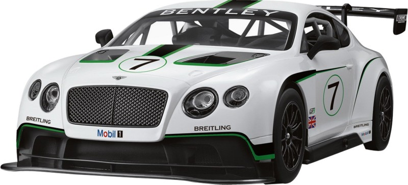 Rastar Playwell Bentley Continental GT3  RC 1:14(White)
