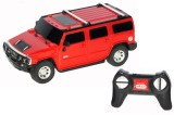 TRD Store R/C 1:24 Hummer H2 Suv Red (Re...