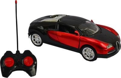 Taaza Garam RC Rechargeable Imported Bugatti Remote Control Car - Red Gift Toy