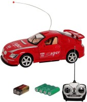 Fantasy India Rc King Driver Rechargeable ToyCar 1:18 With Opening Doors(Red)