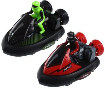 Jilani Bumper Car Fancy Stunt RC Vehicle with Music 40 MHz 4CH with Red and Green
