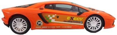 Zaprap Remote Control Orange Lamborghini Dream Sports Car For Kids