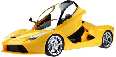 Turban Toys Battery Operated Remote Control Rechargeable Ferrari Car With Open Door