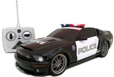 Xq Toys Ford Shelby GT500 Super Snake 1/18 Radio Control Police Car w/ Light