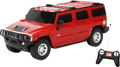 Toyhouse 1:24 Hummer Suv Rechargeable Rc Carr(Red)