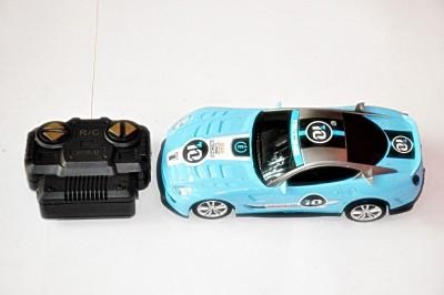 Ruppiee Shoppiee Fast & Furious Blue Rc Car