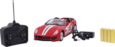 Emob Sports Model Fully Loaded Red Radio Control Car