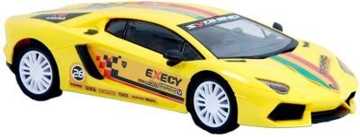 Zaprap Remote Control Yellow Lamborghini Sports Car