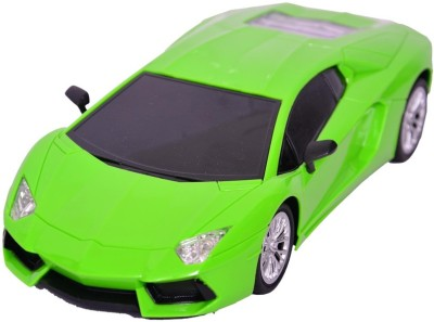 Baby First Lamboghini Green 1:16 Radio Control Remote Car