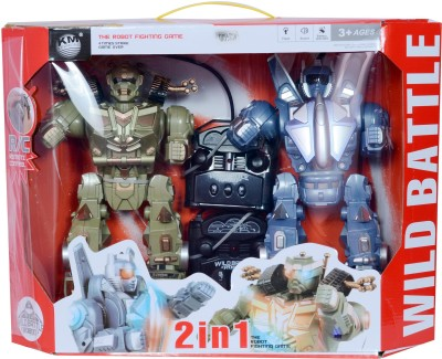 Planet of Toys Wild Battle Fighting Robot - Double