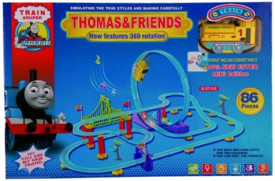 others Thomas & Friends Train Set 86 pieces with 360 rotation
