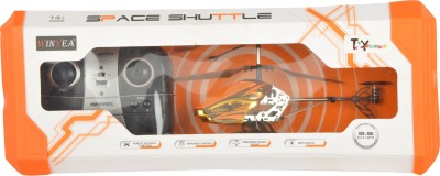 Toyhouse Toyhouse 2.4GHz 3 channel space shuttle helicopter with Gyroscope and lights, Orange