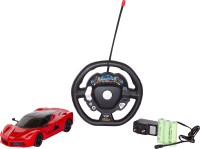Classic Themes 4 Function Rechargeable Car With Charger & Batteries(Red)