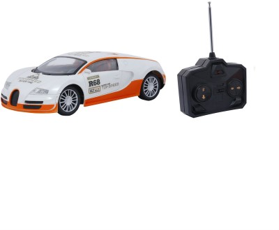 Emob Fully Loaded White Radio Control Car Sports Model