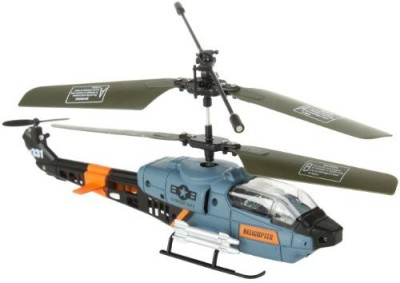 RC TOYS VILLAGE Viefly 3 Channel Rc Military Gyro Mini Indoor Helicopter(Multicolor)