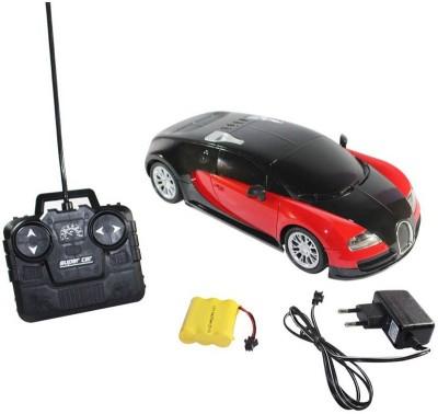 Rey Hawk R/C Super Model Car Bugatti Remote Control 1.16 (Red)