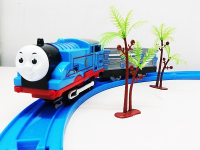 Gift World Train Set & Track Set Battery Operated 18PCS