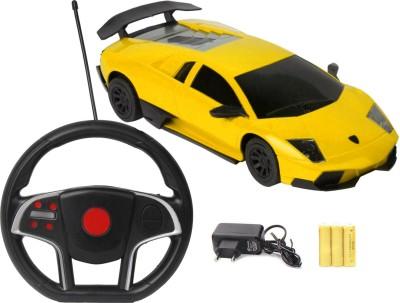 FLIPZON RC Lamborghini Style Rechargeable Toy Car With Gravity Sensing