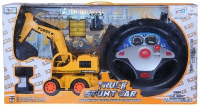 Happy Kids STEERING REMOTE CONTROL TRUCK STUNT CAR