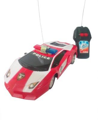Khareedi Lamborghini Sesto Elemento Police Remote Control Car (Multicolor)