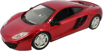 Brunte 1:18 Red Sports Remote Car With Rechargeable Battery
