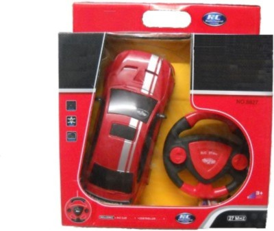 Dinoimpex Remote Control Rechargeable Red Car With Steering