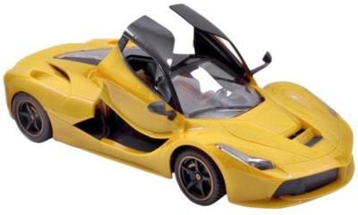 Tiny Mynee Ferrari style remote controlled ferrari car with opening door (Yellow)