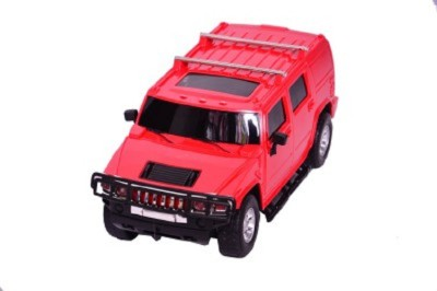 Fides Globe Racer Hummer Red H2 Suv Scale1-16