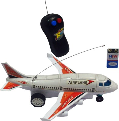 Shop4everything Radio Control Aeroplane ( Non Toxic Material ) Running , Not Flying.