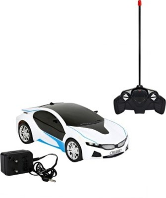 SHREE JI ENTERPRISES Bmw I8 Electric Chargeable 3d Remote Control Lightning Famous Car