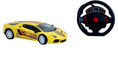 Montez Furious 5 Fully Loaded Remote Control Car - Yellow