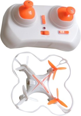 Toyhouse 2.4G 6Axis Lightning Nano Quadcopter with Lights, White