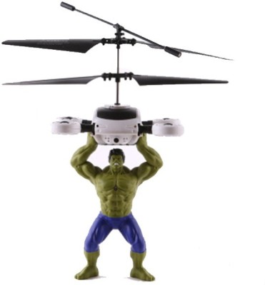 ToysBuggy Flying Avengers Hulk Induction Control Aircraft