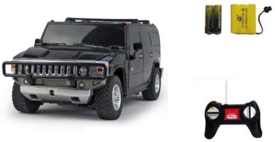 Sunflower Products Hummer H2 Suv Recharable Remote Control Kids Car Scale 1.24-Black