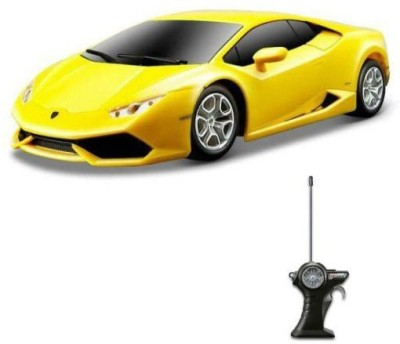 maisto r c lamborghini huracan lp 610 4 1 24 remote control car yellow r c rc. Black Bedroom Furniture Sets. Home Design Ideas