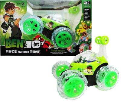WebKreature Radio Control 360° Stunt Car - Green